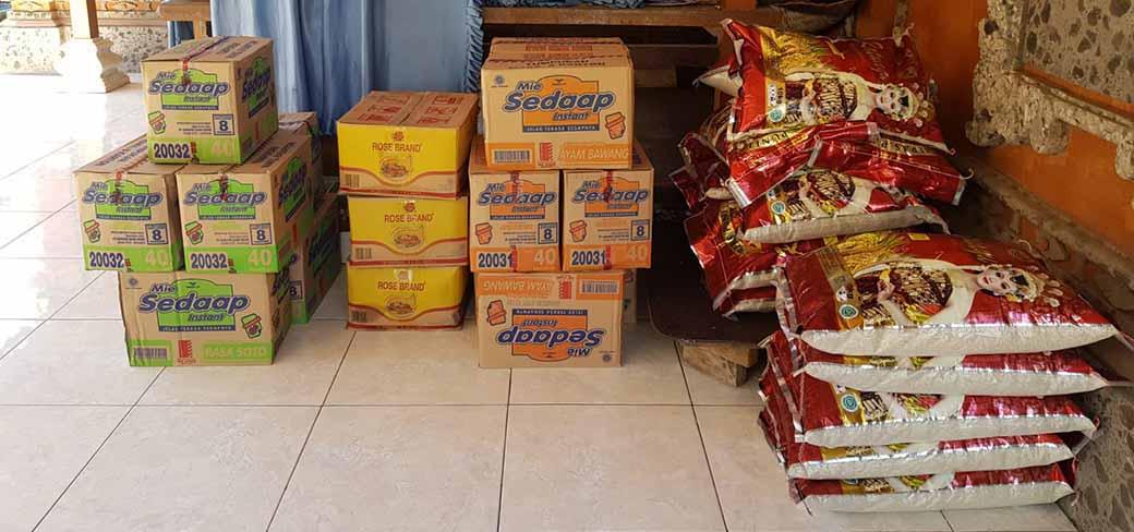 voedselpakketten