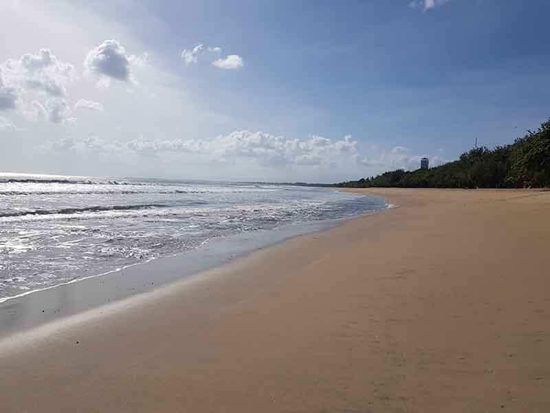situation corona Kuta Beach